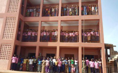 Ausbildungszentrum der Mädchen – Erweiterungsbau ist fertig!!!