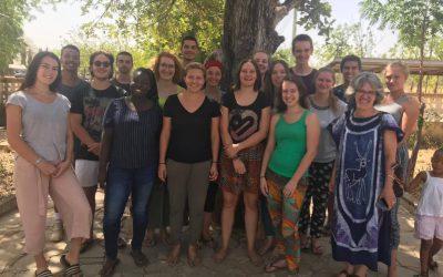 Zwischenseminar in Ghana und Benin für unsere Freiwilligen 18/19