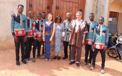 Verleihung des Verdienstordens von Burkina Faso