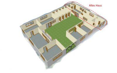 Wiederaufbau Waisenhaus und Sanatorium in Lawra